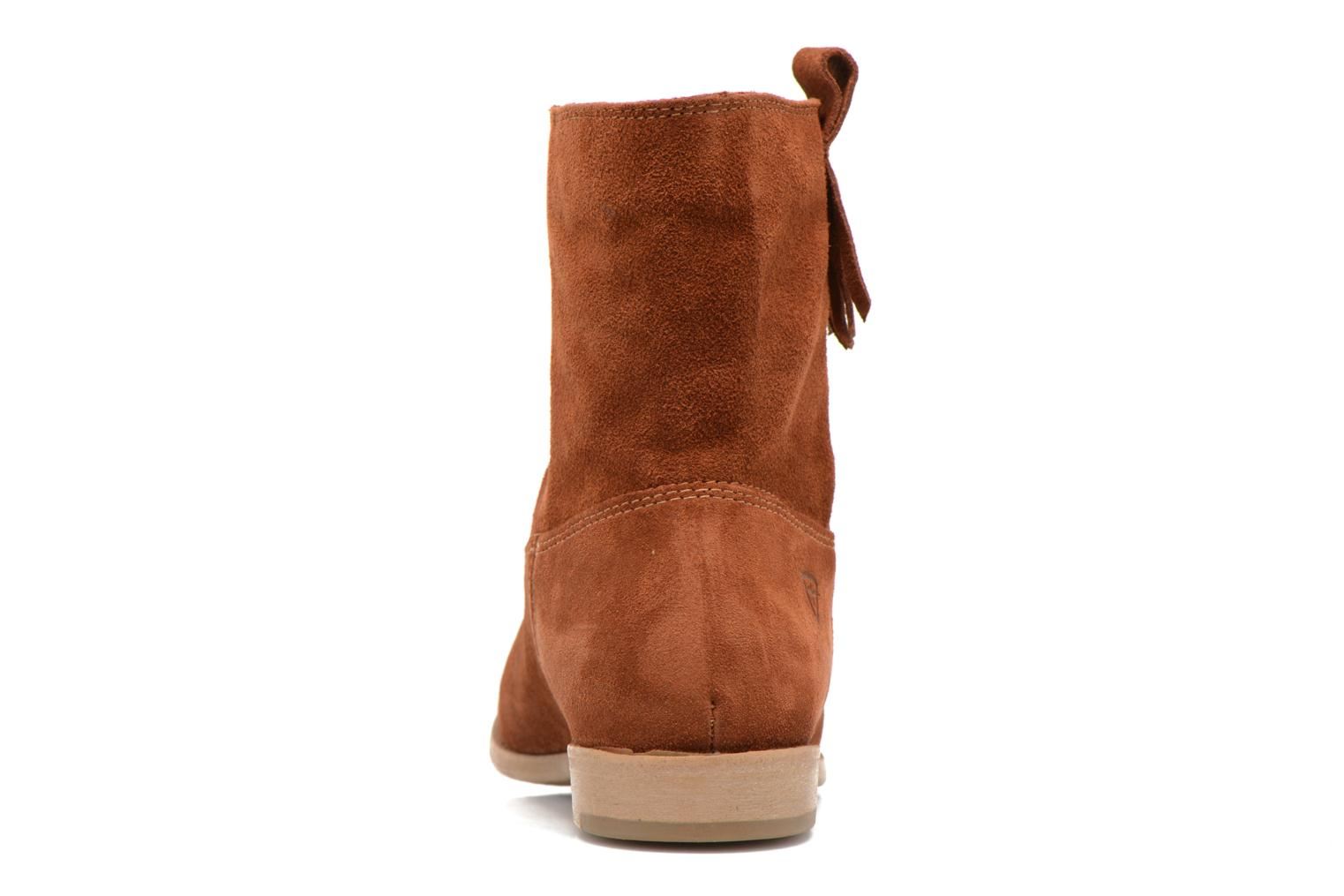 Ankle boots Tamaris Selina Brown view from the right