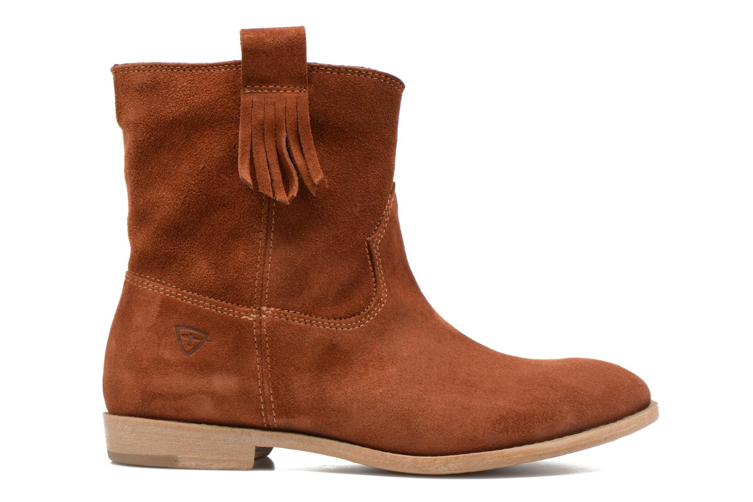 Ankle boots Tamaris Selina Brown back view