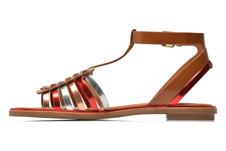 Sandales et nu-pieds What For Pralie Multicolore vue face