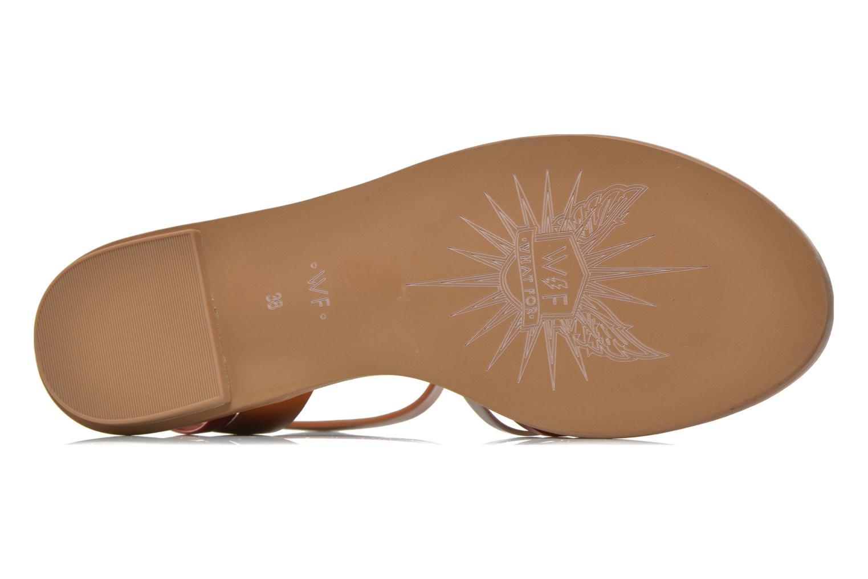 Sandalen What For Pralie mehrfarbig ansicht von oben