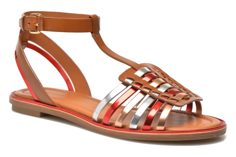 Sandales et nu-pieds What For Pralie Multicolore vue détail/paire