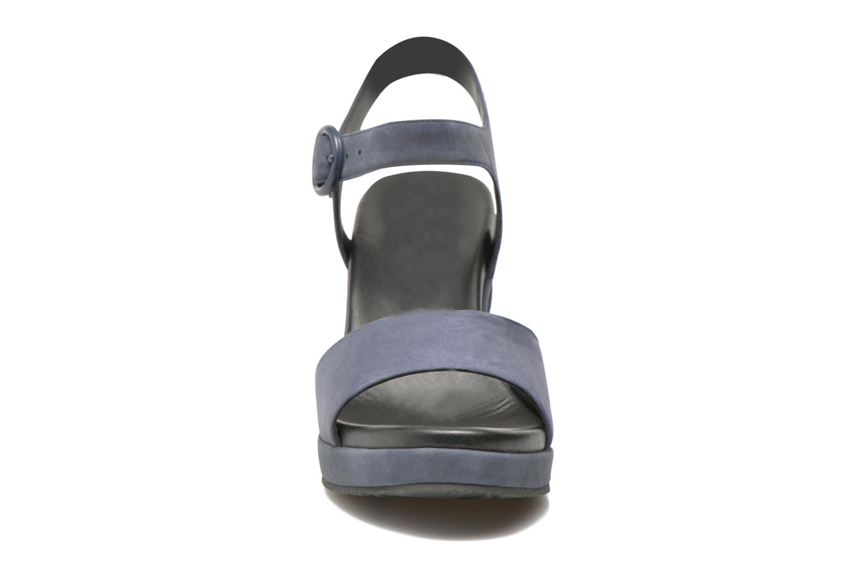 Sandalen What For Kanye blau schuhe getragen