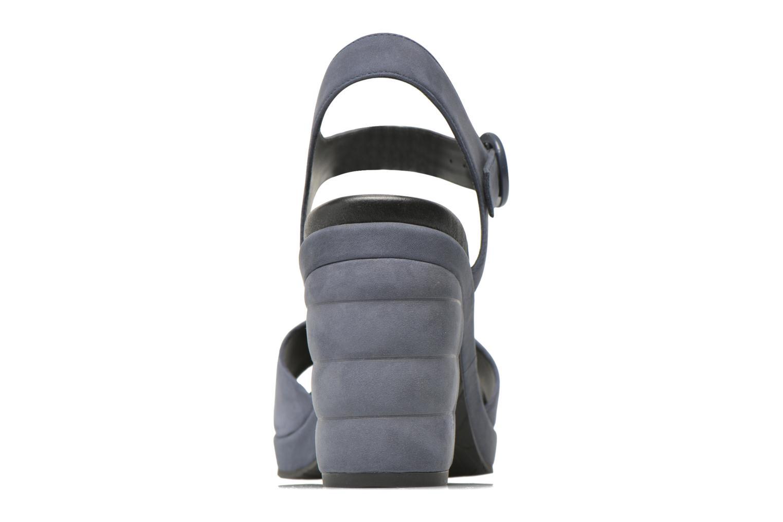 Sandalen What For Kanye blau ansicht von rechts