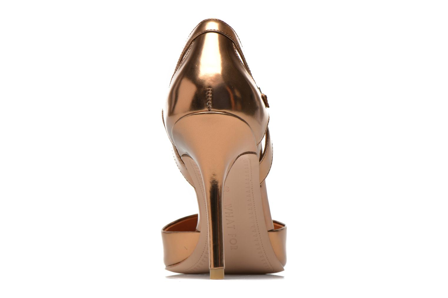 Pumps What For Dorothy gold/bronze ansicht von rechts