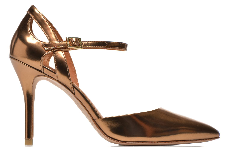 Zapatos de tacón What For Dorothy Oro y bronce vistra trasera