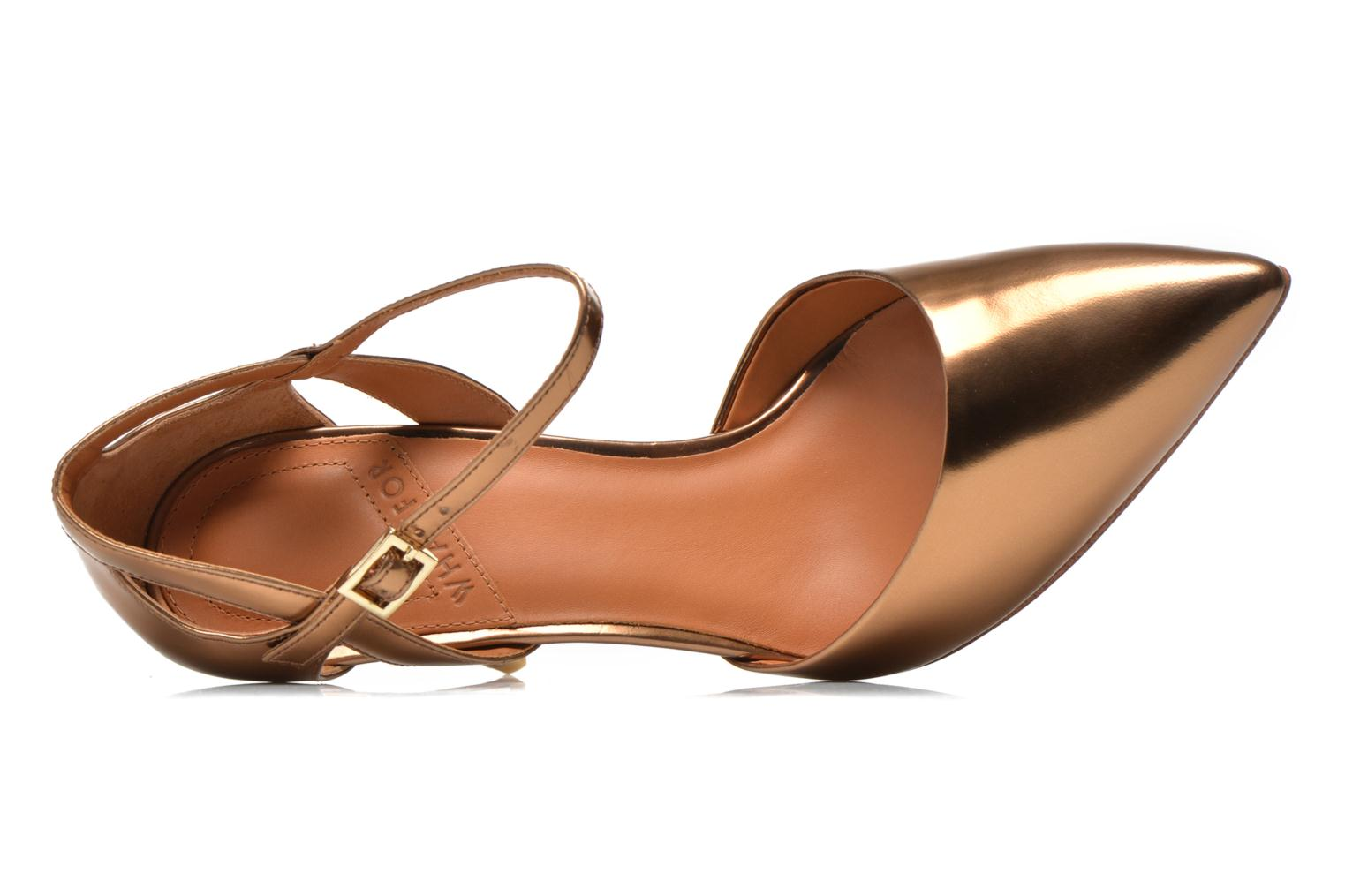 Pumps What For Dorothy gold/bronze ansicht von links