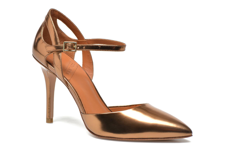 Zapatos de tacón What For Dorothy Oro y bronce vista de detalle / par