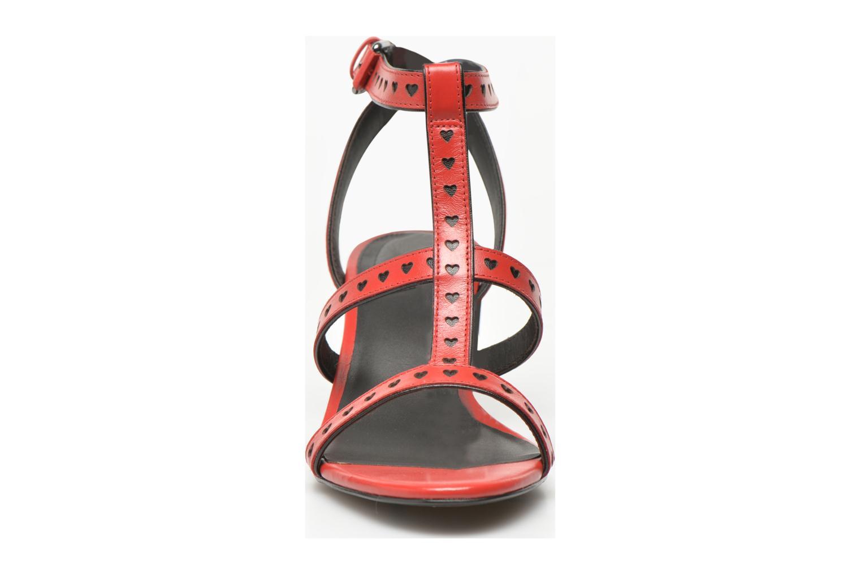Sandaler What For Pandora Röd bild av skorna på