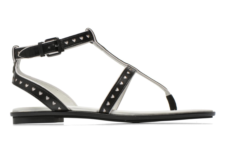 Sandales et nu-pieds What For Tale Noir vue derrière