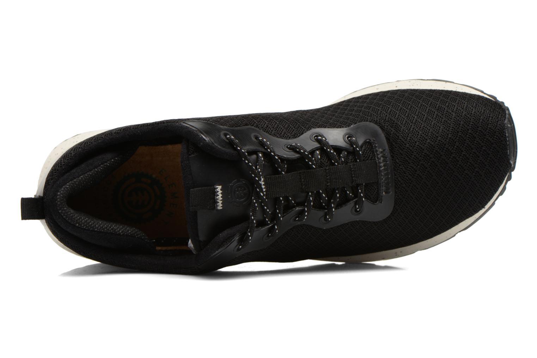 Sneaker Element Kahan schwarz ansicht von links