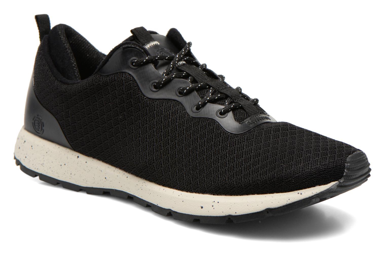 Sneaker Element Kahan schwarz detaillierte ansicht/modell