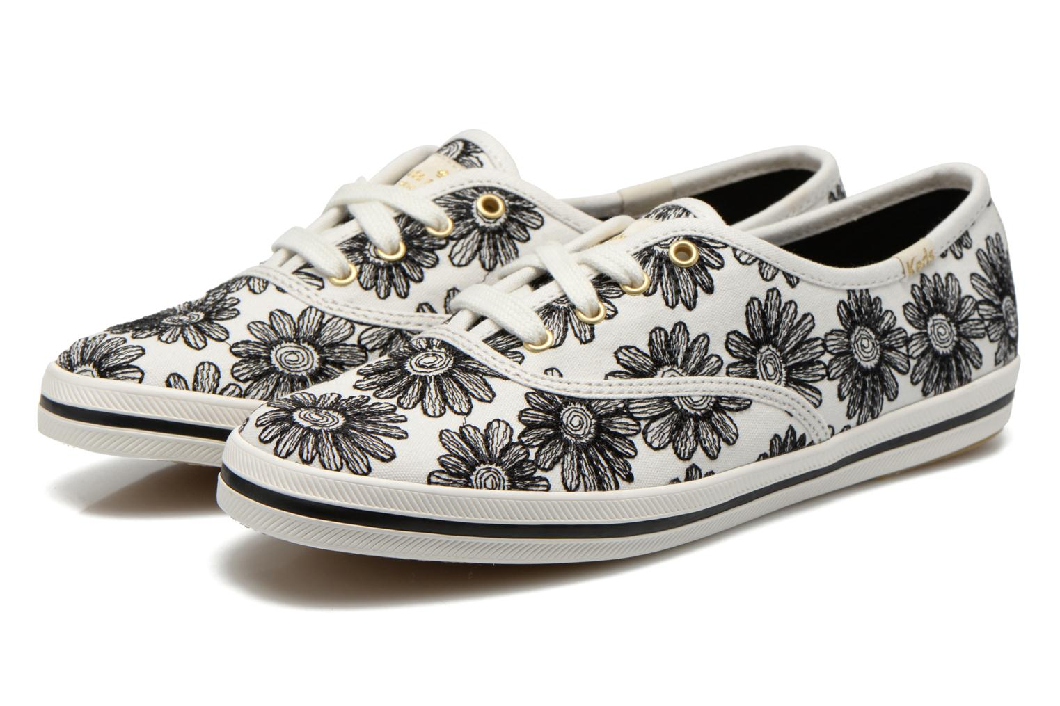 Trainers Keds Ch Daisy Embroidery Black 3/4 view