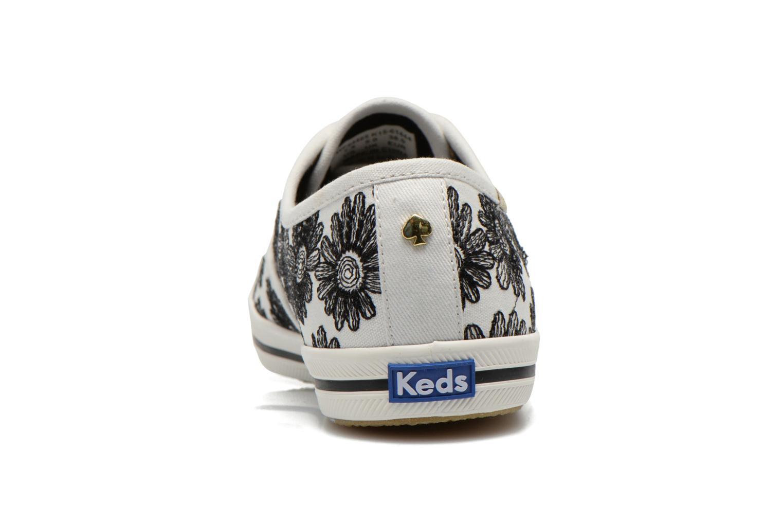 Sneaker Keds Ch Daisy Embroidery schwarz ansicht von rechts
