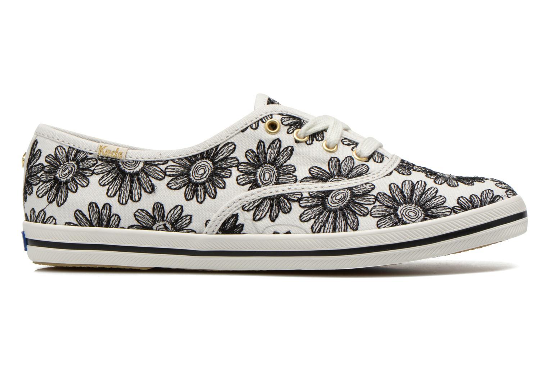 Sneaker Keds Ch Daisy Embroidery schwarz ansicht von hinten