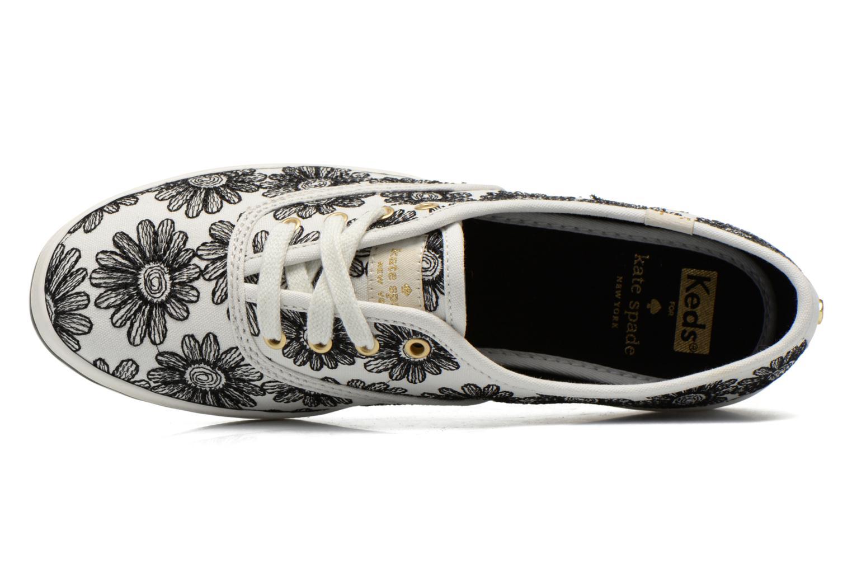 Sneaker Keds Ch Daisy Embroidery schwarz ansicht von links