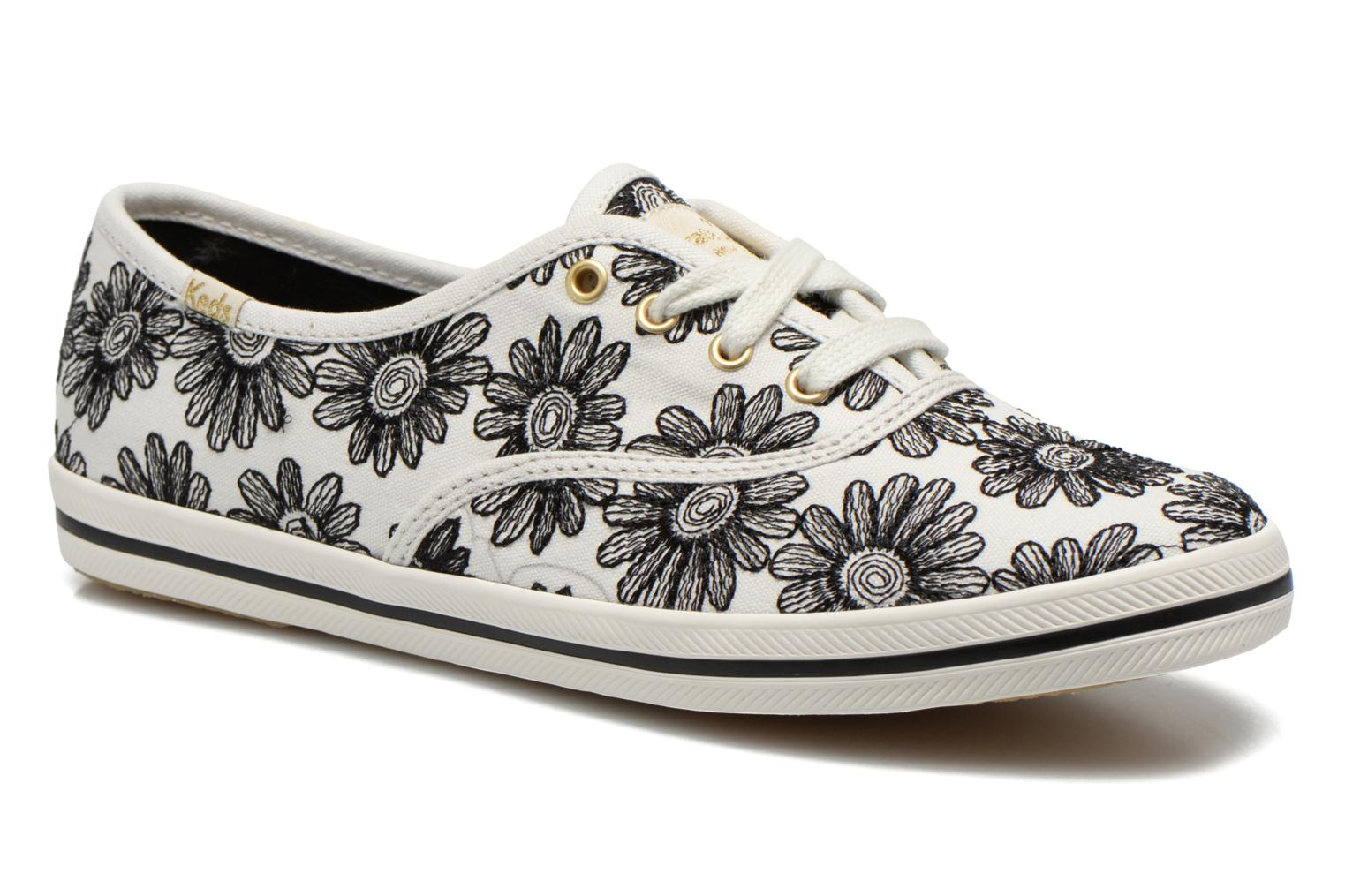 Trainers Keds Ch Daisy Embroidery Black detailed view/ Pair view