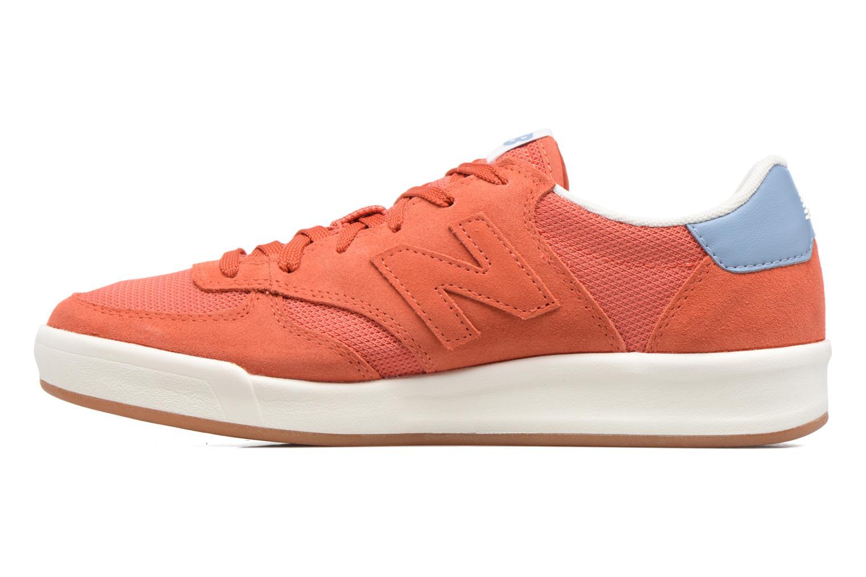 Baskets New Balance CRT300 Orange vue face
