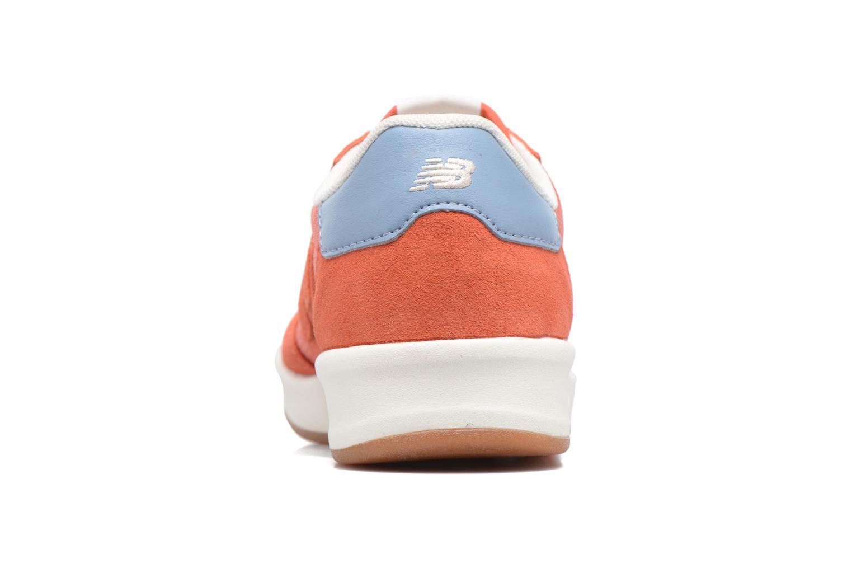 Baskets New Balance CRT300 Orange vue droite
