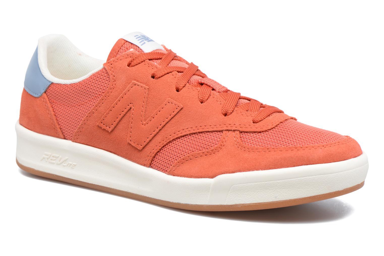 Baskets New Balance CRT300 Orange vue détail/paire