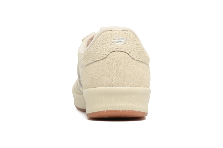Baskets New Balance CRT300 Blanc vue droite