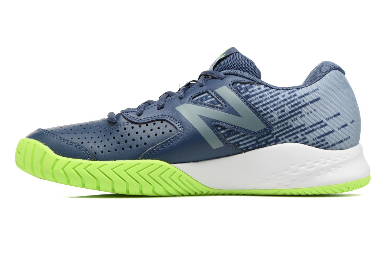 Chaussures de sport New Balance MC696 Bleu vue face