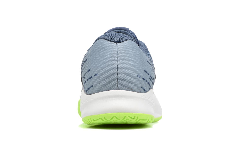 Chaussures de sport New Balance MC696 Bleu vue droite