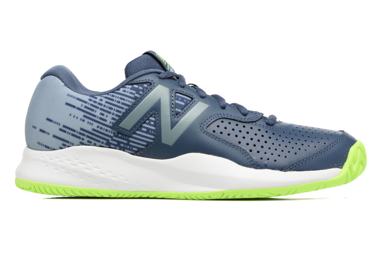 Sport shoes New Balance MC696 Blue back view