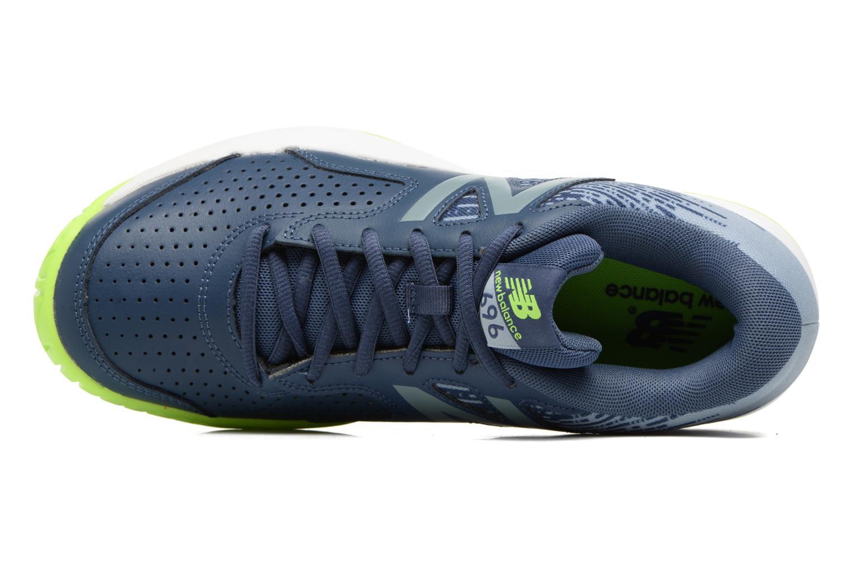Chaussures de sport New Balance MC696 Bleu vue gauche