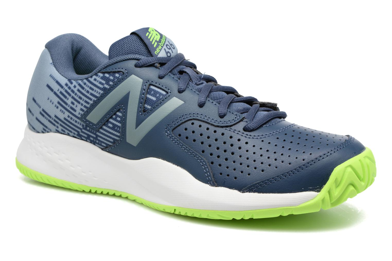 Sport shoes New Balance MC696 Blue detailed view/ Pair view
