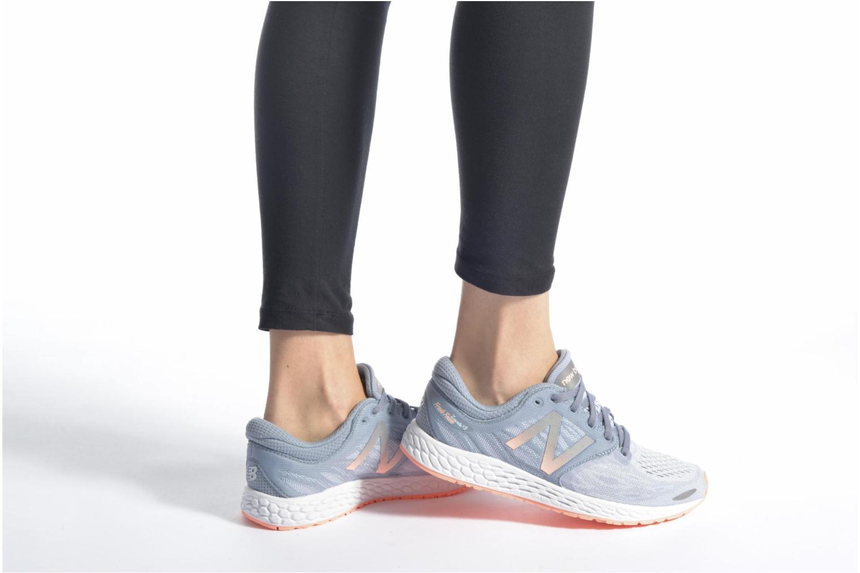 Chaussures de sport New Balance WZANT Gris vue bas / vue portée sac