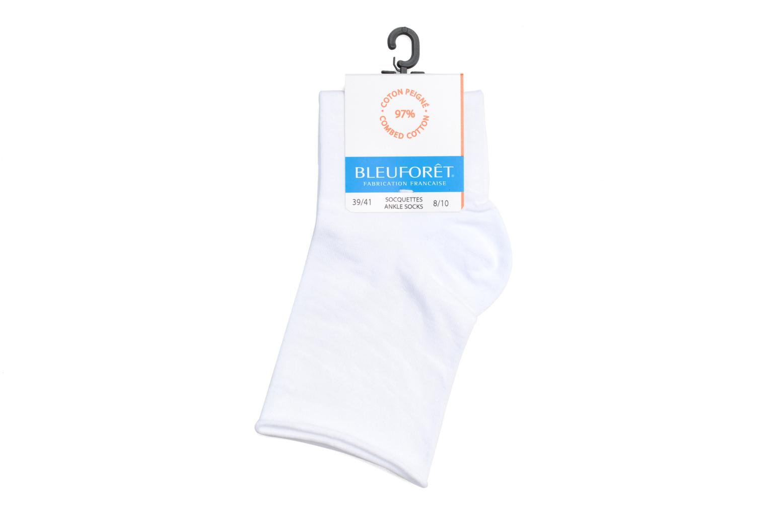 Socquettes ROULOTTEES C Blanc DD7
