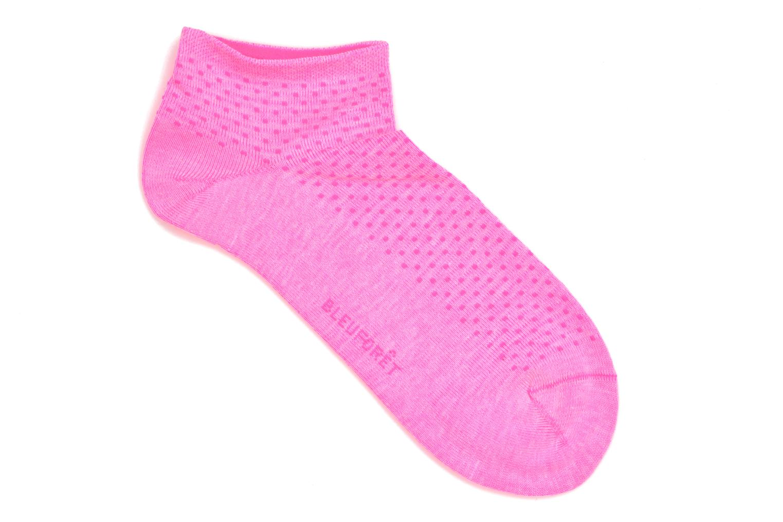 Mini-Socquettes POIS FLUO C Rose GK6
