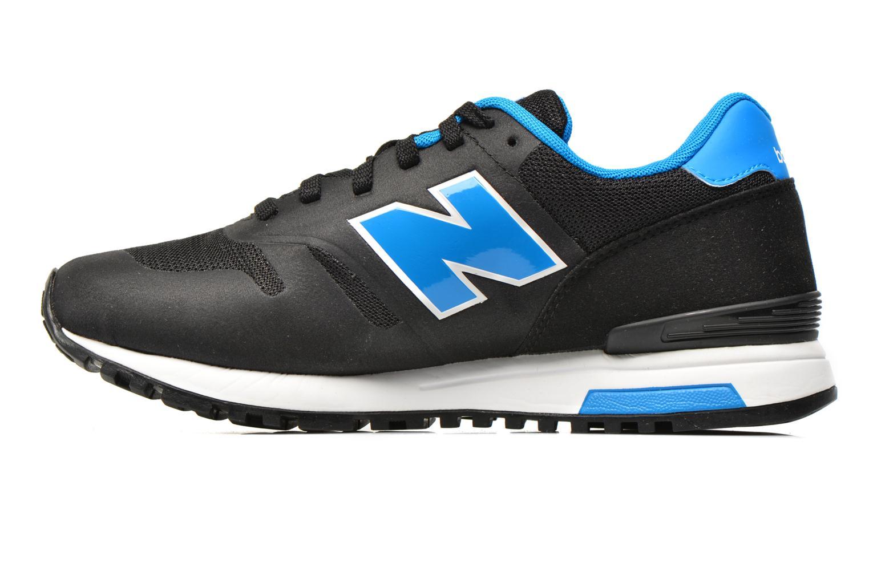 Sneaker New Balance ML565 D M schwarz ansicht von vorne
