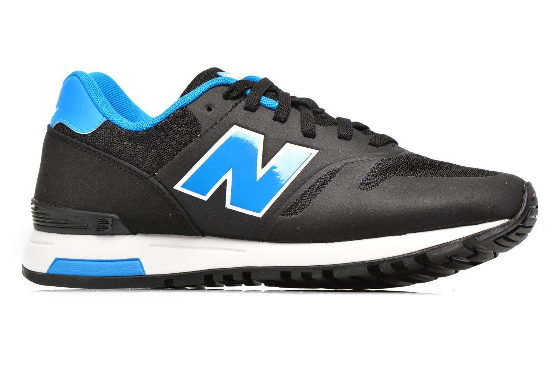 Sneaker New Balance ML565 D M schwarz ansicht von hinten