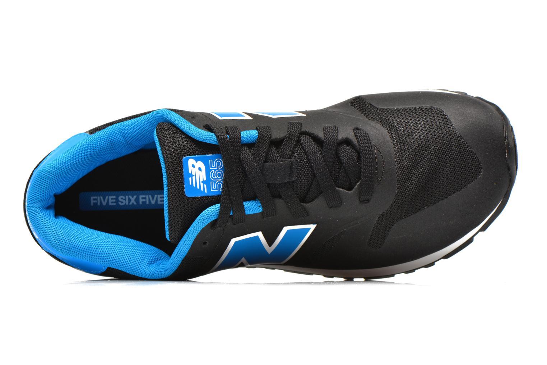 Sneaker New Balance ML565 D M schwarz ansicht von links