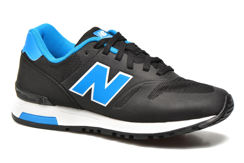 Sneaker New Balance ML565 D M schwarz detaillierte ansicht/modell