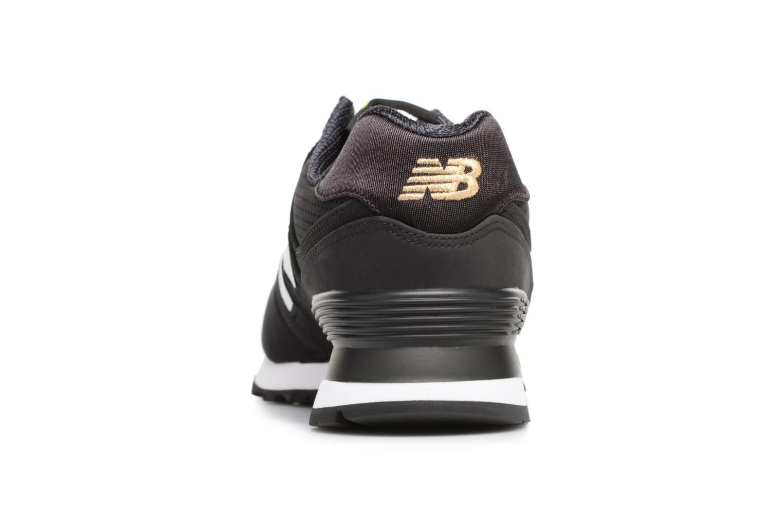 Sneaker New Balance ML574 D schwarz ansicht von rechts