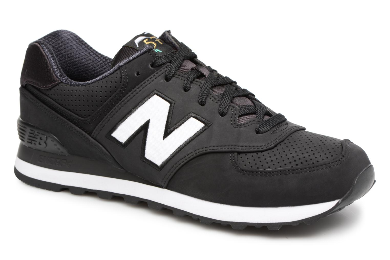 Sneaker New Balance ML574 D schwarz detaillierte ansicht/modell