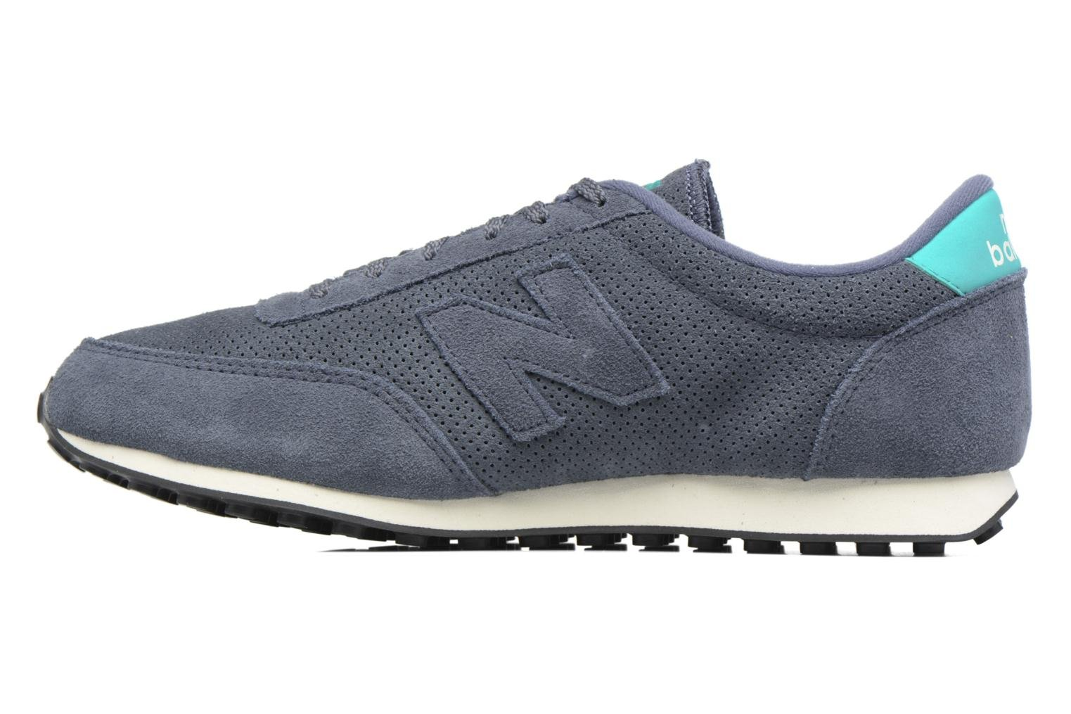 Trainers New Balance U410 D Grey front view