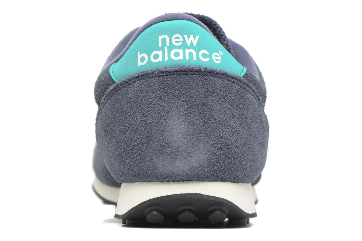 Trainers New Balance U410 D Grey view from the right