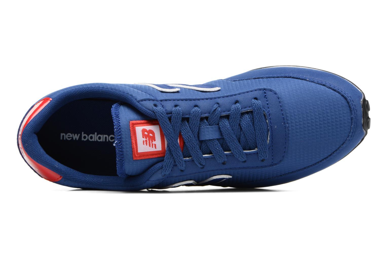 Sneaker New Balance U410 D blau ansicht von links