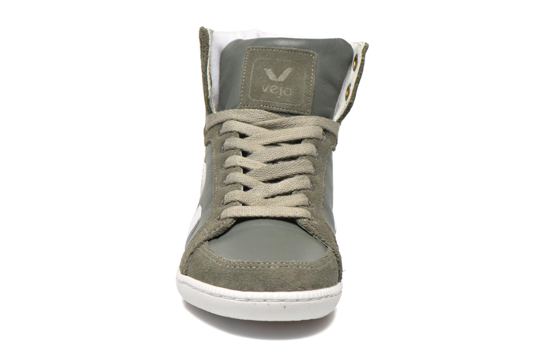 Sneaker Veja Spma leather grau schuhe getragen