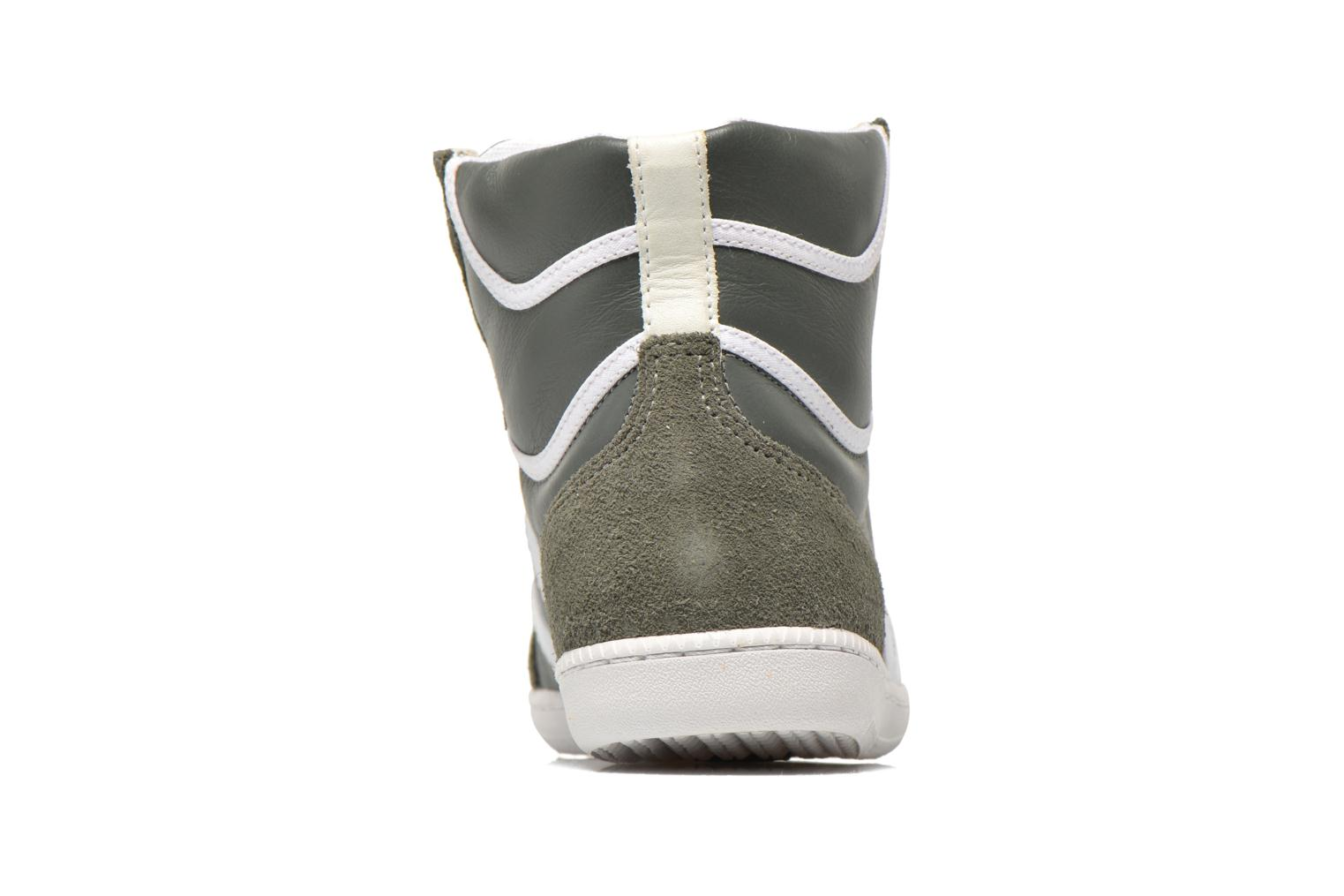 Trainers Veja Spma leather Grey view from the right