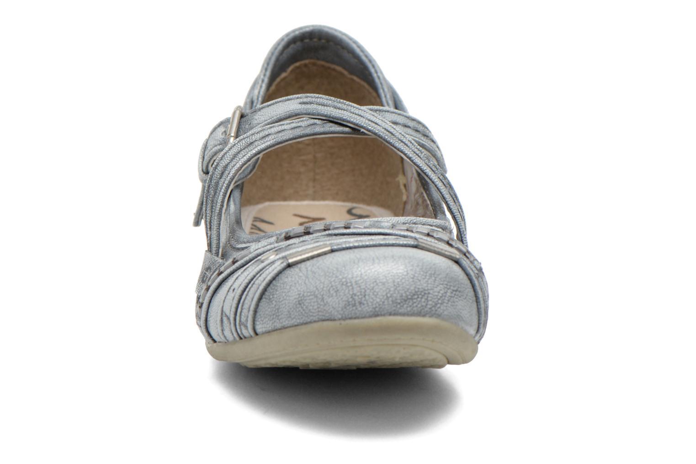 Ballerines Mustang shoes Maya Kids Bleu vue portées chaussures