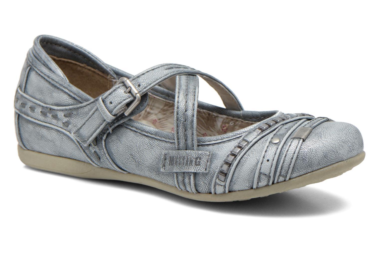 Ballerines Mustang shoes Maya Kids Bleu vue détail/paire