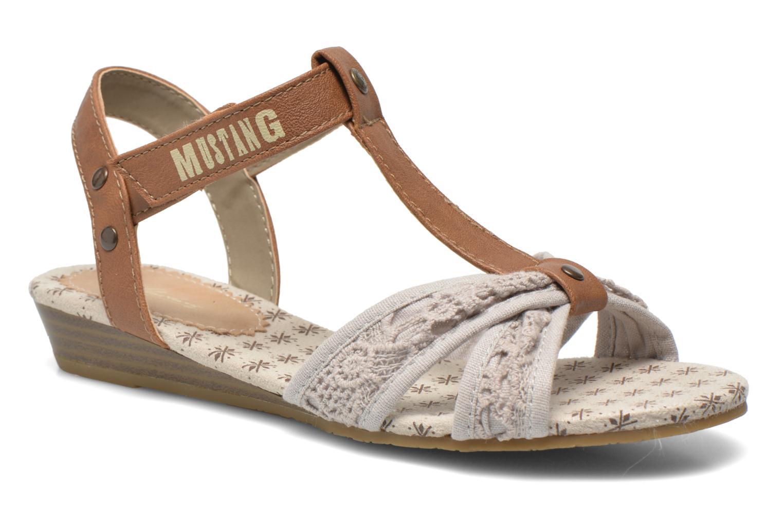 Sandalen Mustang shoes Neele beige detaillierte ansicht/modell