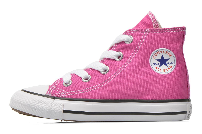 Sneaker Converse Chuck Taylor All Star Hi rosa ansicht von vorne