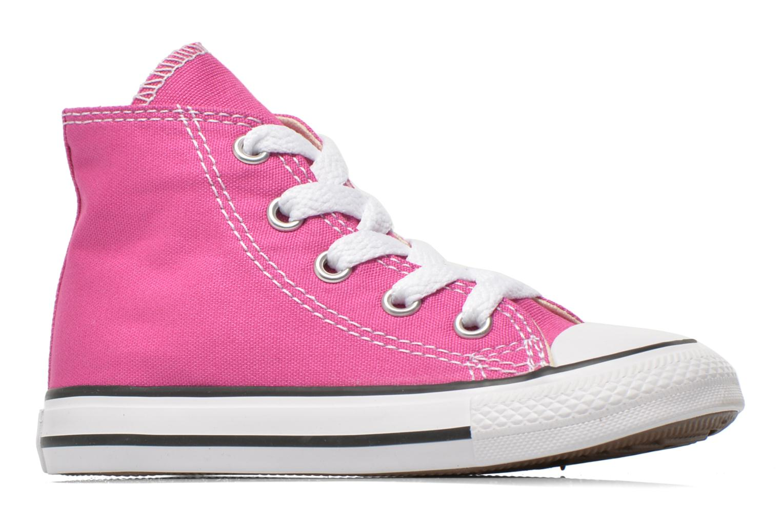 Sneakers Converse Chuck Taylor All Star Hi Roze achterkant