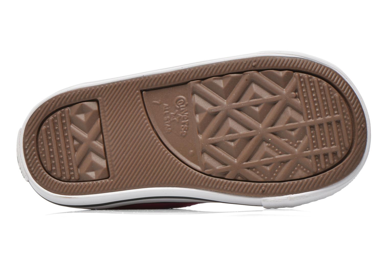 Sneaker Converse Chuck Taylor All Star Hi rosa ansicht von oben