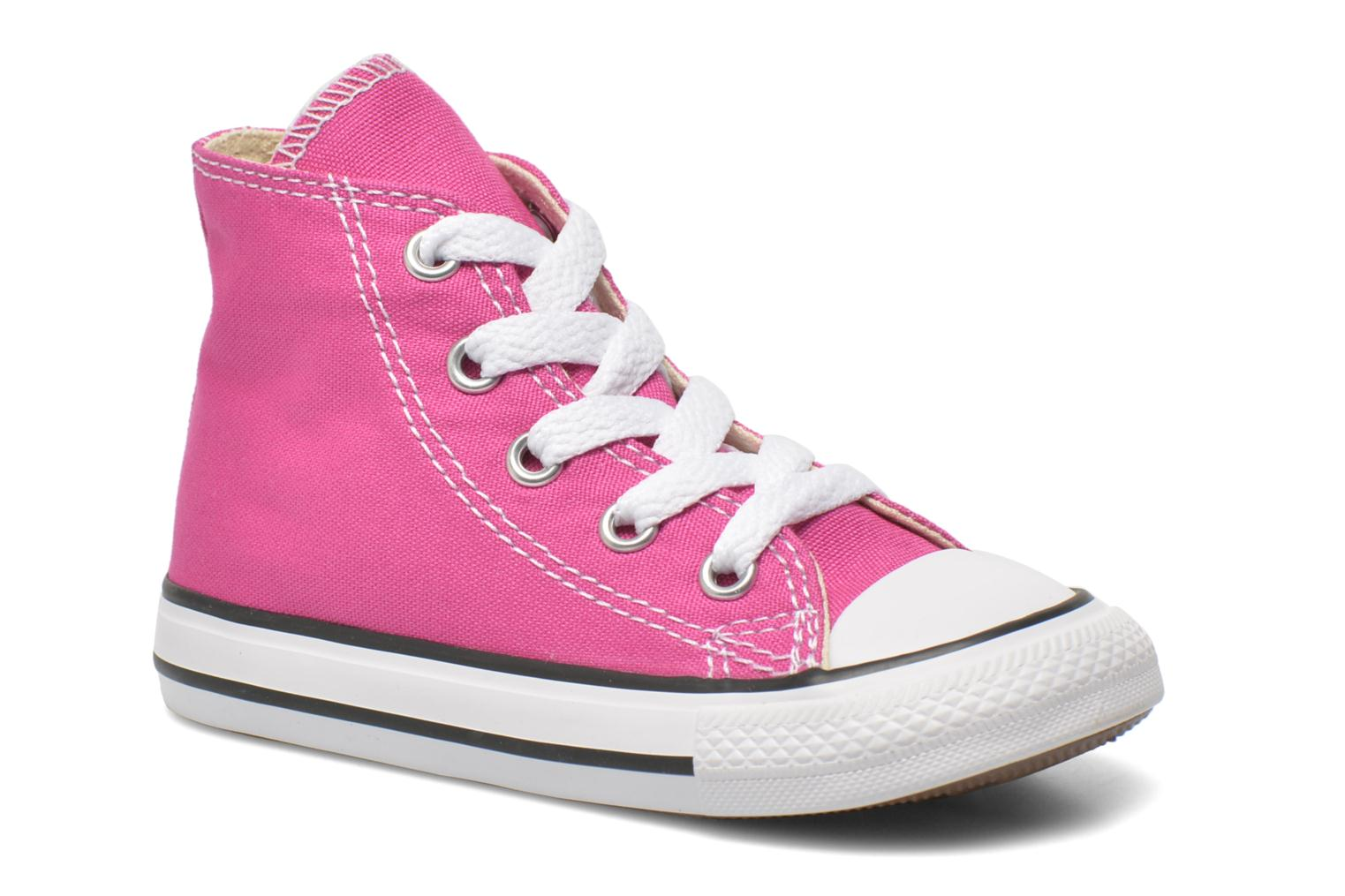 Sneakers Converse Chuck Taylor All Star Hi Roze detail